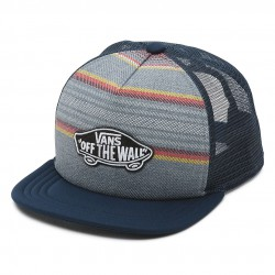 Vans Classic Patch Trucker blue mirage/rockaway stripe