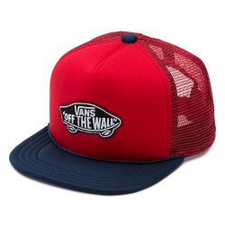 Vans Classic Patch Trucker Boys racing red/dres