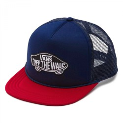 Vans Classic Patch Trucker dress blues/red dahlia
