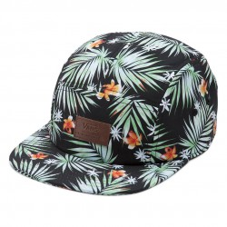 Vans Davis 5 Panel black decay palm
