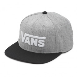 Vans Drop V Ii Snapback heather grey/black