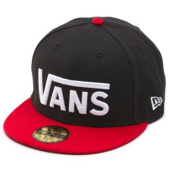 Vans Drop V New Era black/reinvent red