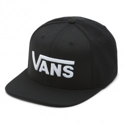 Vans Drop V Snapback black/white