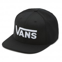 Vans Drop V Snapback Boys black/white