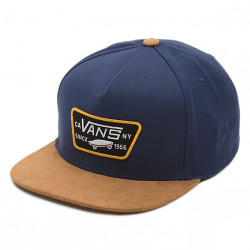 Vans Full Patch Snapback Boys dress blues/khaki