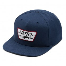 Vans Full Patch Snapback Boys dress blues/rhubarb