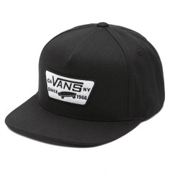 Vans Full Patch Snapback Boys true black