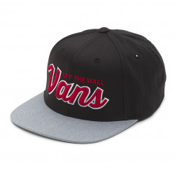 Vans Wilmington Snapback black/heather grey
