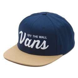 Vans Wilmington Snapback dress blues/khaki