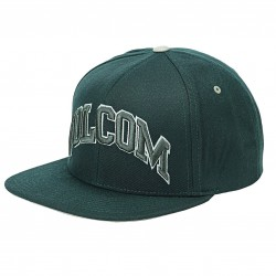 Volcom 3D Stone Snapback jungle green