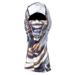 Celtek Samurai Balaclava iron maiden number of the beast