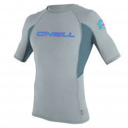 O'Neill Skins Graphic S/s Crew cool grey/dusty blue/cool grey