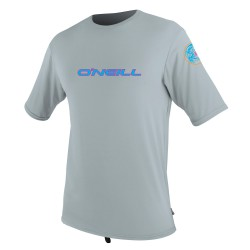 O'Neill Skins Graphic S/s Rash cool grey