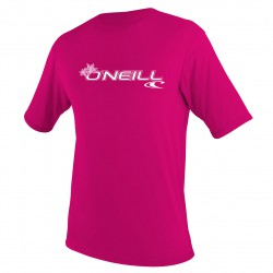 O'Neill Toddler Basic Skins S/s Rash Tee watermelon