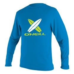O'Neill Toddler Skins L/s Rash Tee Boys brite blue