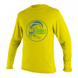 O'Neill Toddler Skins L/s Rash Tee yellow