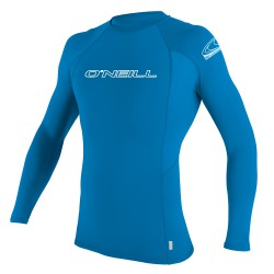 O'Neill Youth Basic Skins L/s Crew brite blue