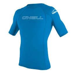O'Neill Youth Basic Skins S/s Crew brite blue