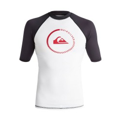 Quiksilver Lock Up Ss white/black