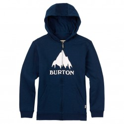Burton Boys Classic Mountain Fz Hoodie eclipse