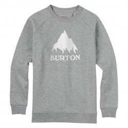 Burton Classic Mountain Crew grey heather