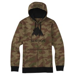 Burton Classic Mountain High Fz Hoodie splinter camo