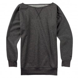 Burton Crimson Fleece true black heather