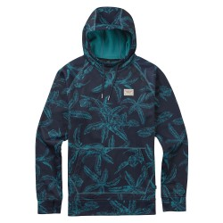 Burton Crown Bonded Pullover Hoodie eclipse tropical