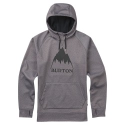 Burton Crown Bonded Pullover Hoodie monument heather