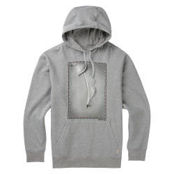 Burton Ferguson Pullover Hoodie grey heather