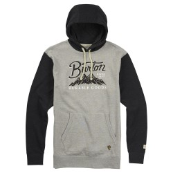 Burton Front Range grey heather