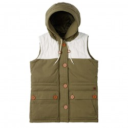 Burton Geneva Vest olive night