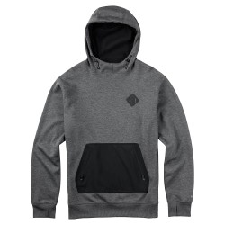 Burton Hemlock Bonded Po true black heather