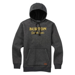 Burton Maynard Pullover Hoodie true black heather