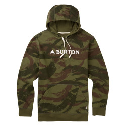 Burton Mountain Horizontal Pullover brush camo
