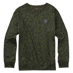 Burton Oak Crew rifle green mossglenn
