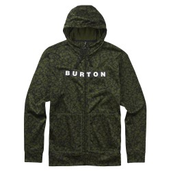 Burton Oak Full-Zip Hoodie rifle green mossgenn