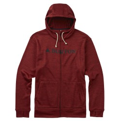 Burton Oak Full-Zip Hoodie tandori heather