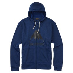 Burton Oak Full-Zip Hoodie true blue heather