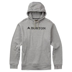 Burton Oak Pullover Hoodie monument heather