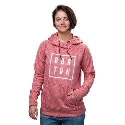 Burton Quartz Pullover coral heather