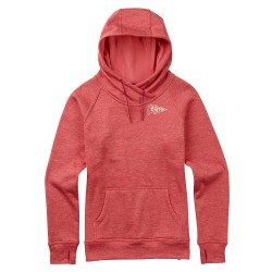 Burton Quartz Pullover coral/sashimi heather
