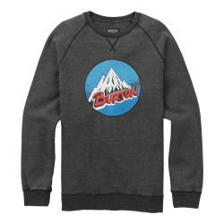 Burton Retro Mountain Crew true black