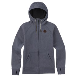 Burton Scoop Hoodie denim heather