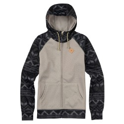 Burton Scoop Hoodie dove heather