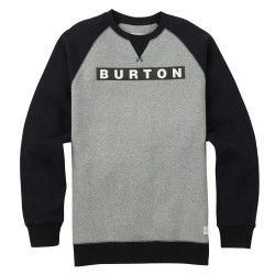 Burton Vault Crew grey heather
