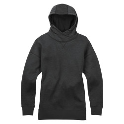 Burton Wms Hixon Pullover Hoodie true black heather