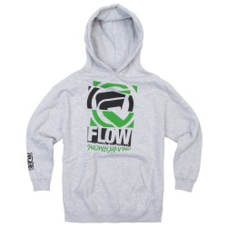 Flow Diced Youth Hoodie athletic heather