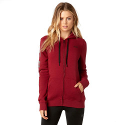 Fox Affirmed Zip Fleece dark red