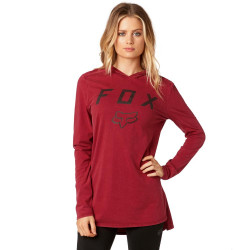 Fox Axiom Hoody dark red